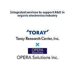 Picture of Toray Research Center and OPERA Solutions joint offerings to customers